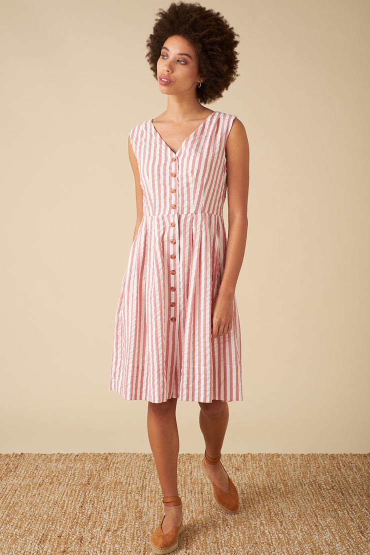 Scarlett Riviera Stripe Dress