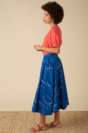 Sandy Blue Divers Skirt