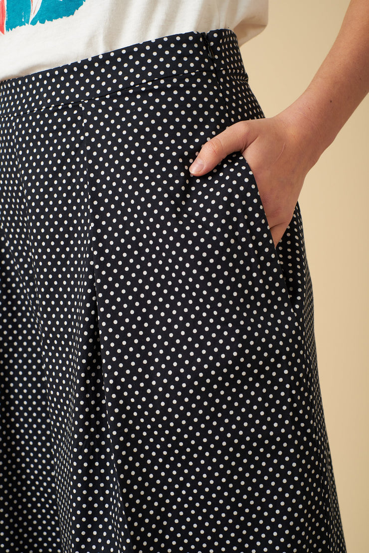 Polka Dot Print | Alexis Spot Culotte | Women's Culotte | Emily and fin