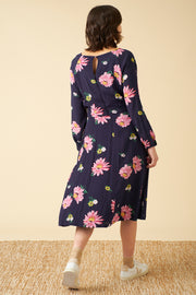 Stephy Autumn Gerberas Dress