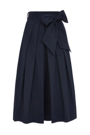 Jemima Navy Bow Skirt