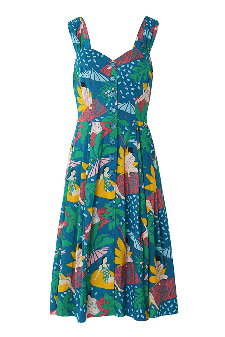 Jenny Riviera Poolside Dress