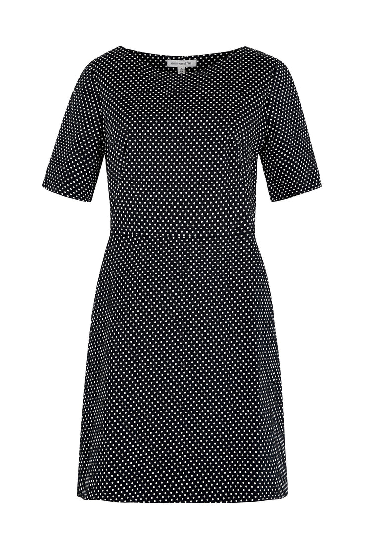 Aggie Spot Shift Dress