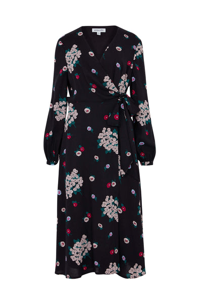 Luna Floral Wrap Dress