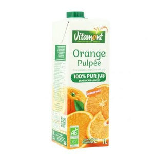 Jus Orange Pulpe Lt Vitamont