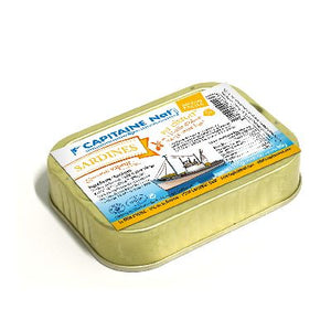 Sardines Citron** 80g Capitaine Nat