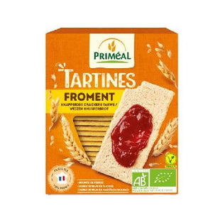 Tartines Craquantes Froment 150 G Primeal
