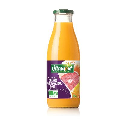 Jus Orange Pamplemousse Rose  Vitamont