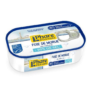 Foie De Morue** Naturel Hyposode  121 G Phare E