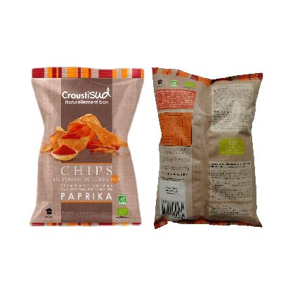 Chips Paprika 100g Croustisud
