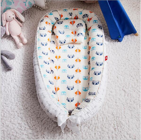 Portable Infant Lounger Baby Nest