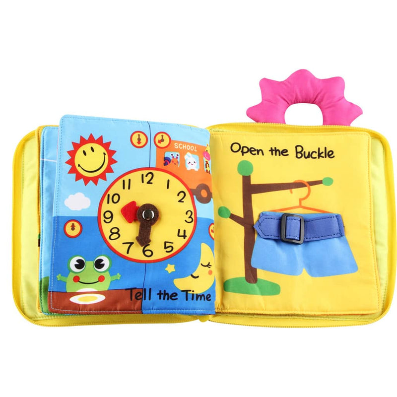 Baby's Early Education Cloth Book