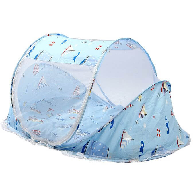 Foldable  Baby Bed with Mosquito Net