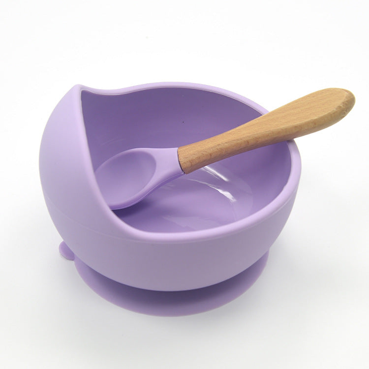 Spill-proof Children's Feeding Set with Suction