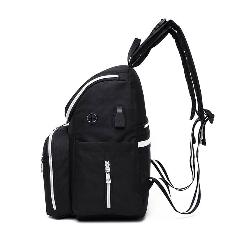 Large Capacity Diaper Bag with USB Phone Charger