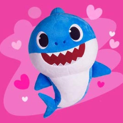 Baby Shark Doll Plush Toy with Music