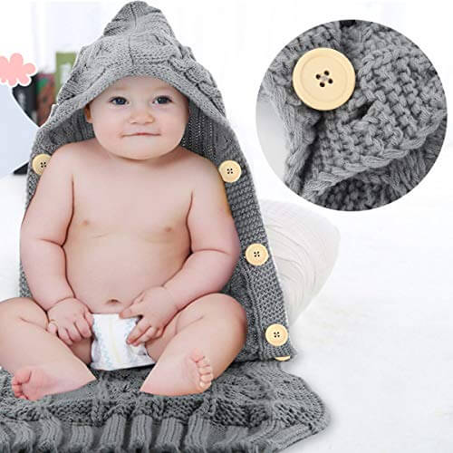 Knitted Baby Sleeping Sack