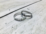 Dean and Castiel Stackable Rings