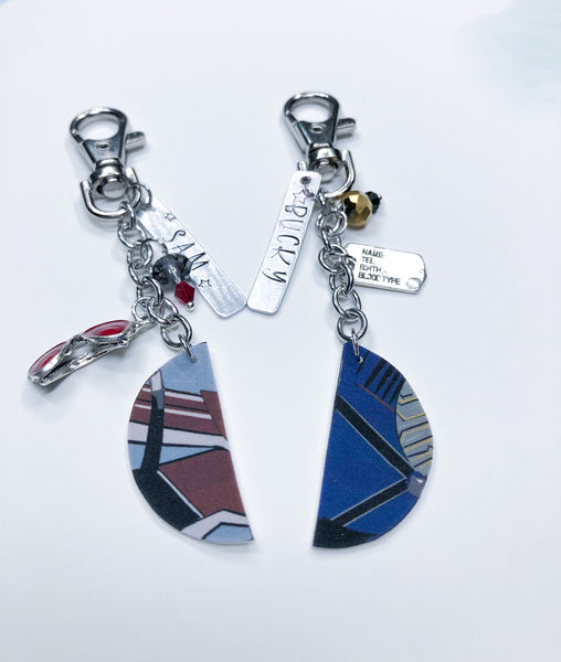 Falcon and Winter Soldier Bff Key Chains