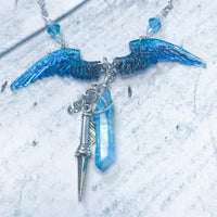 Castiel's Angelic Grace Necklace