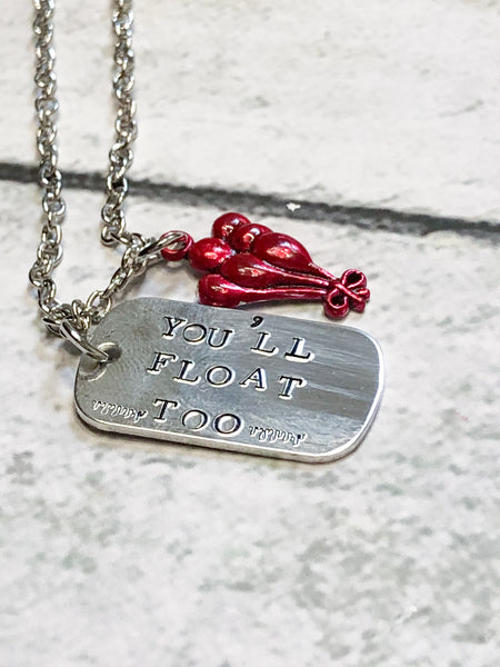 You'll Float Too Necklace