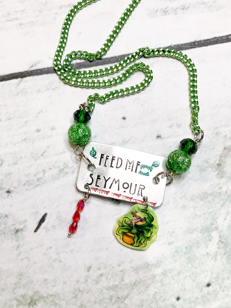 Feed Me Seymour Necklace