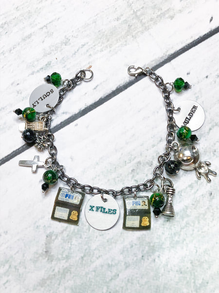 The X Files Inspired Loaded Bracelet
