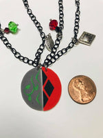 Harley and Ivy Inspired BFF Necklace