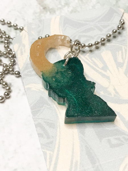 Loki Galaxy Resin Necklace