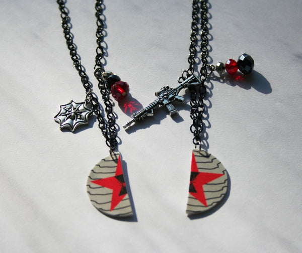 Winter Widow Inspired Best Friend Necklaces