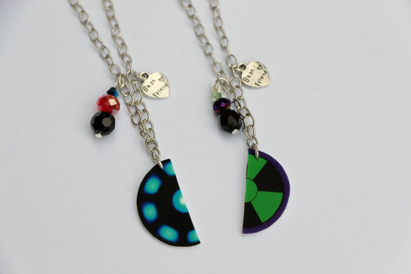 Science Bro's Inspired Best Friend Necklaces