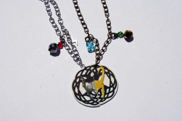 Thor and Loki Inspired Best Friend Necklaces