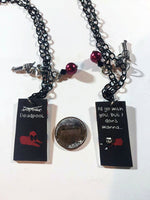 Deadpool inspired Best Friend Necklaces