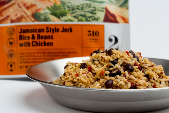 Jamaican Style Jerk Rice & Beans with Chicken