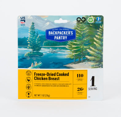 Freeze-Dried Cooked Chicken
