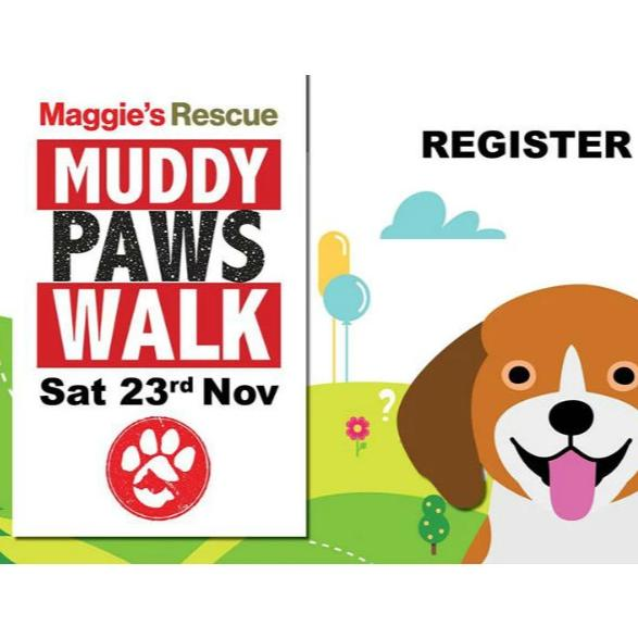 Muddy Paws Walk | 23 NOV
