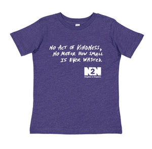 N2N Kindness Youth Shirt