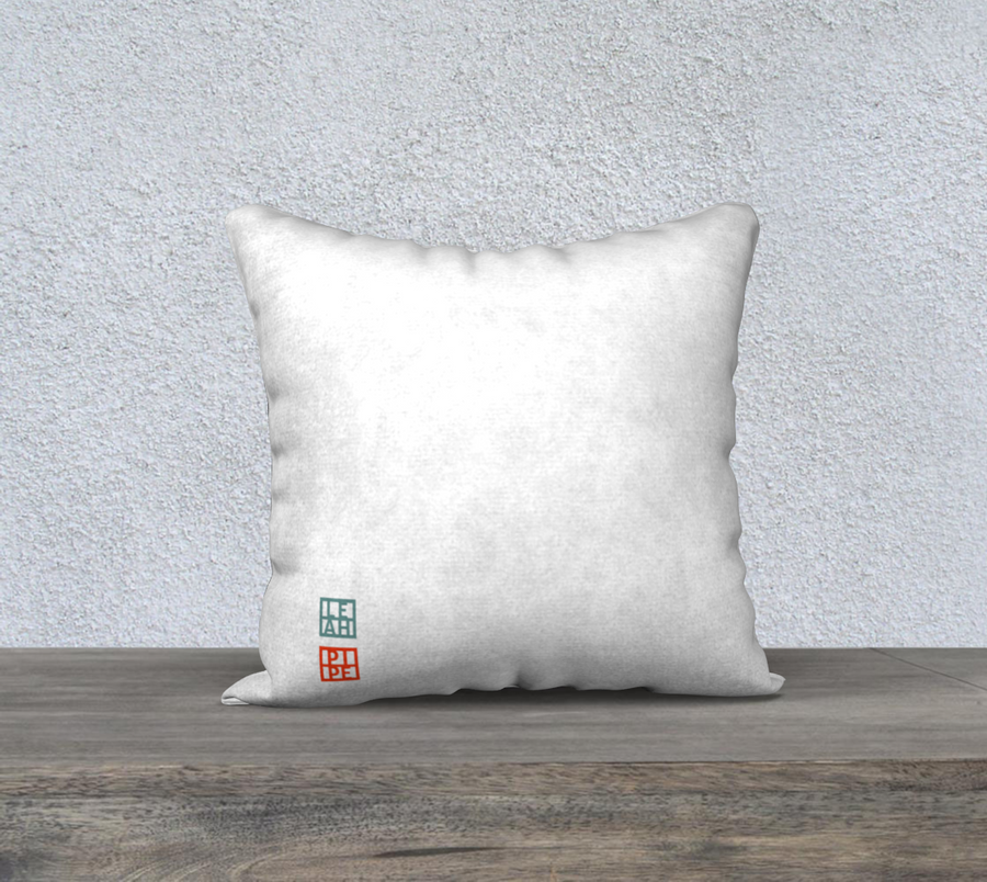 Looking Back on New Beginnings - Pillow Cover