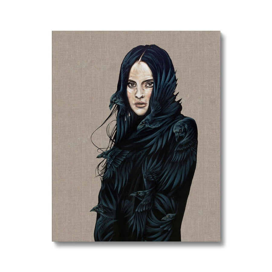 Raven Girl - Canvas