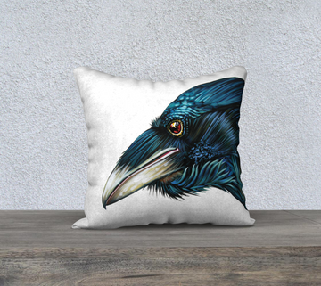 Raven Spirit - 18x18 Pillow Cover