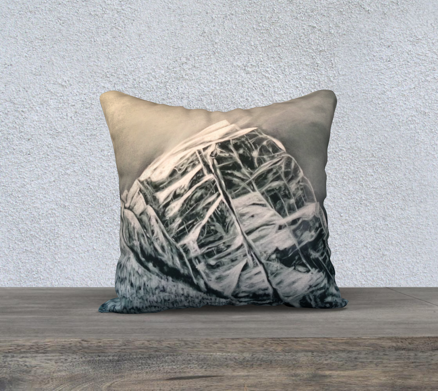 The Difference Between Here and Above - 18x18 Pillow Cover