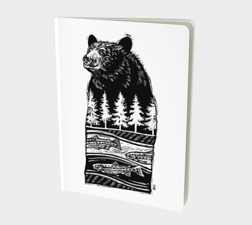 Beautiful perfect bound books for writers. Great gifts for writers or people who like to scribble. Dream Journals. Books with art from Canadian artist Leah Pipe. The Bear Within. Bear Art