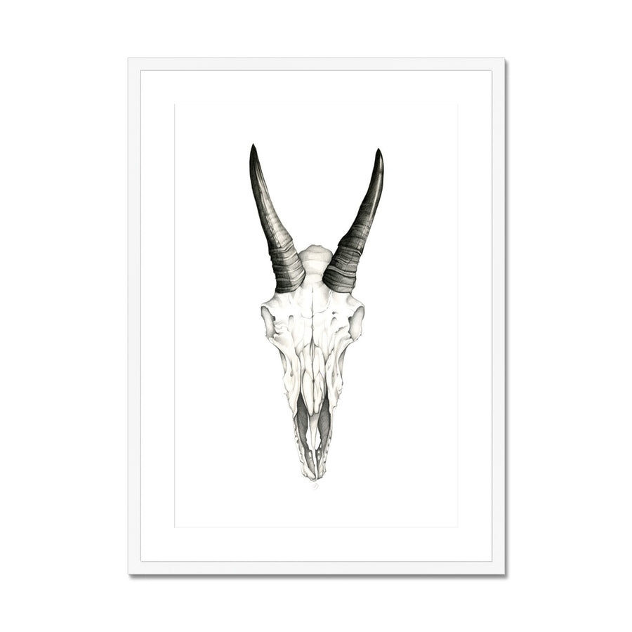 Beneath My Bones - Framed & Mounted Print