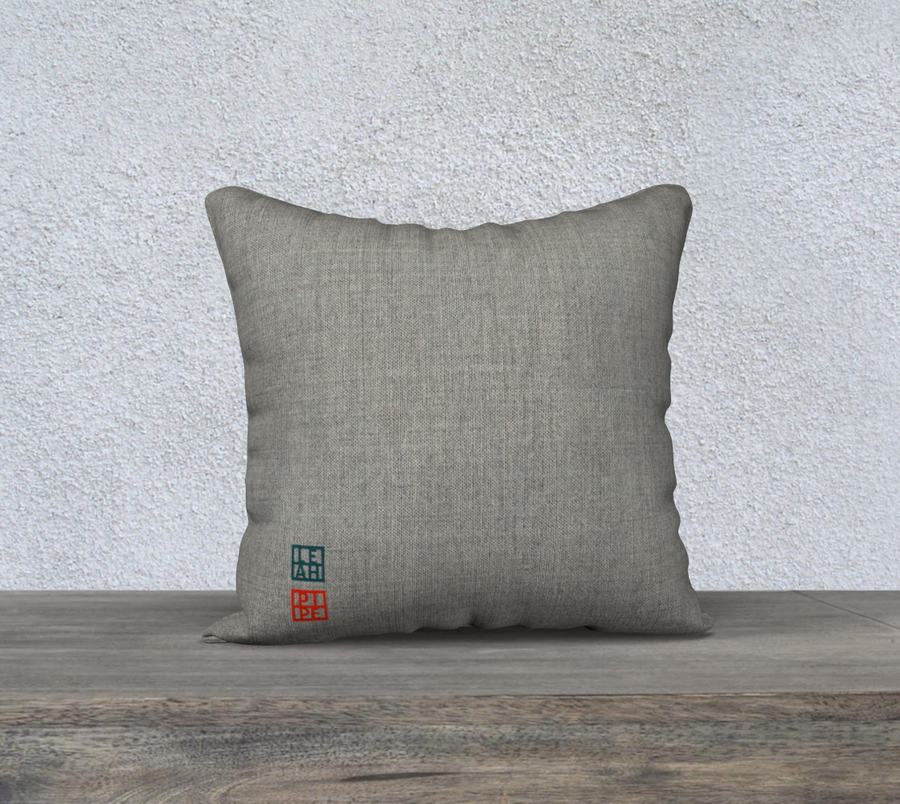 Distant Stones - 18x18 Pillow Cover