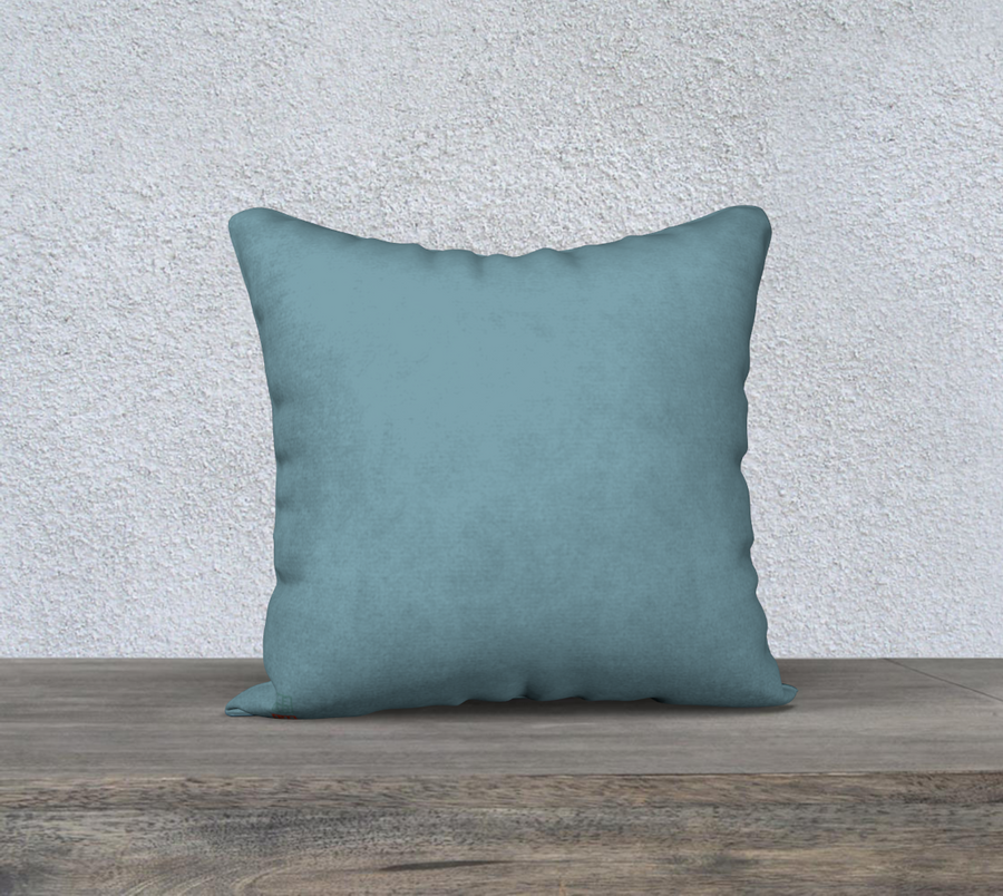 Singing the River's Song - 18x18 Pillow Cover