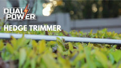 Dual Power Hedge Trimmer Demo