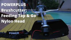 Replacing Tap & Go Nylon Head on your Power Plus Brush cutter