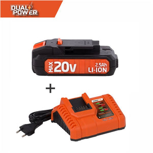 Dual Power 20V Samsung Battery and Charger Combo