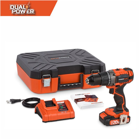 Dual Power 20V Drill/Screwdriver Combo