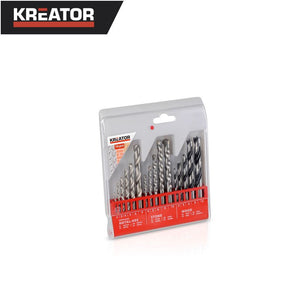 Kreator 16pcs Mixed Drill Bit Set